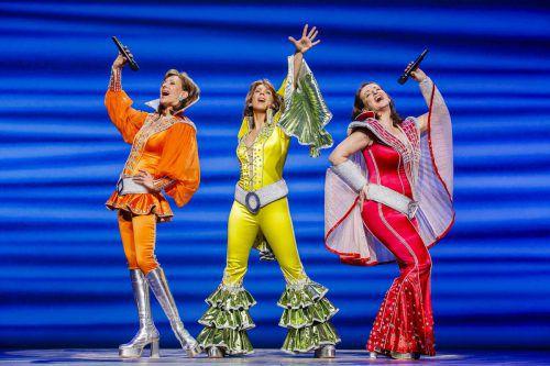 """Das Gute-Laune-Musical """"Mamma Mia"""" mit Sabine Mayer als Donna kommt wieder nach Bregenz. Brinkhoff/mögenburg"""