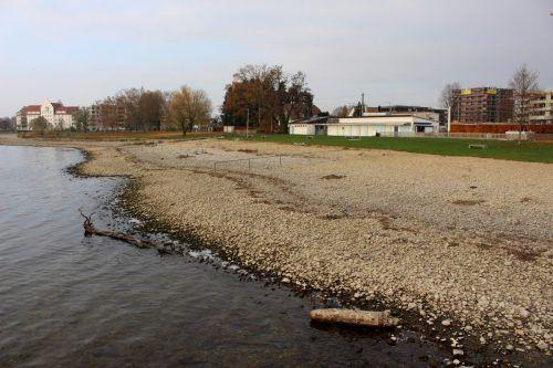 Das Neubauprojekt Lochauer Strandbad wird in diesem Jahr gestartet. bms
