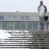 Salz und Eis, das Wintertraumpaar