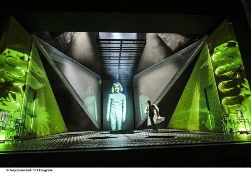 """Das Stück """"Frankenstein"""" von Dietmar Dath ist von Mary Shelley inspiriert und wurde nun in Zürich uraufgeführt. Schauspielhaus/Dorendorf"""