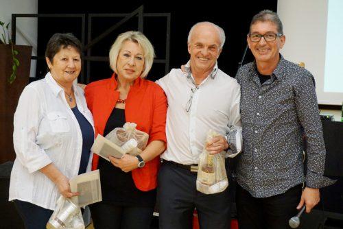 Das Tanzteam vom Seniorenbund mit Mary, Elfi, Rudi und Franz.Seniorenbund