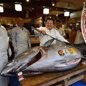Rekordpreis für Thunfisch