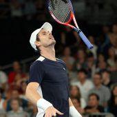Murray verabschiedet sich mitgroßem Fight von Aussie-Fans