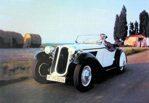 Der BMW 315/1 Sportwagen entstand aus einer Kooperation zwischen Daimler-Benz und BMW und zeigt die hervorragenden Designerqualitäten von Sepp Bildstein. familie