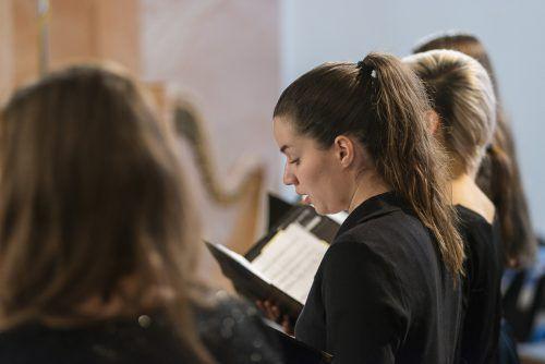 Der Chor des VLK lädt am Samstag zum Chorkonzert in den Festsaal nach Feldkirch ein. victor marin