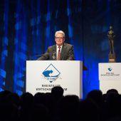 Gauck beim Rheintaler Wirtschaftsforum
