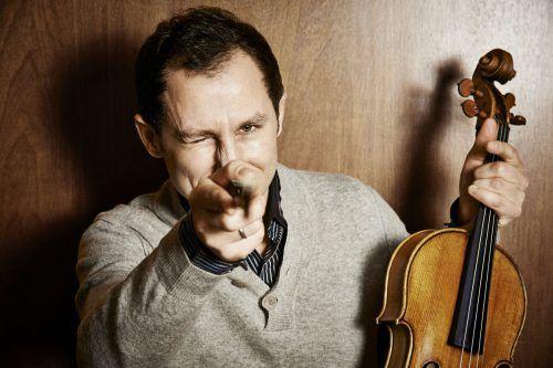 Der international gefeierte Bratschist Antoine Tamestit ist der Solist des Abends im Konzert mit den Wiener Symphonikern.A. T. Birkenholz