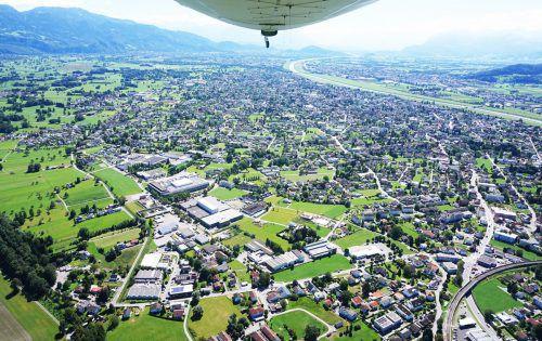Der Masterplan Betriebsgebiete zeigt Lustenaus große Potenziale als Wirtschaftsstandort auf, heißt es aus dem Rathaus. Gde