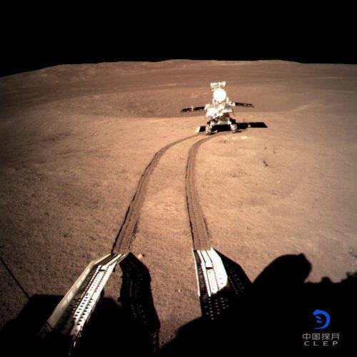 Der Mond-Rover war wegen hoher Temperaturen vorübergehend auf Standby.Rts