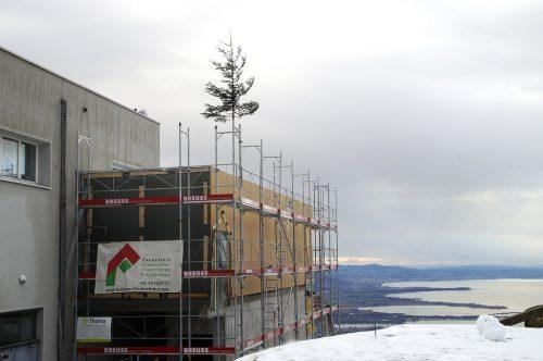 Der neue Seminarraum wird bis Mai fertiggestellt.pfänderbahn ag