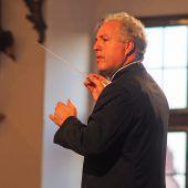 Manfred Honeck und Kian Soltani gemeinsam im Konzertsaal