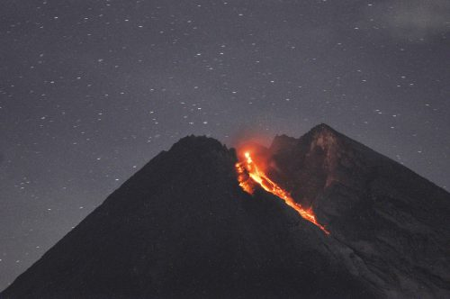 Der Vulkan Merapi gilt als der aktivste unter Dutzenden Vulkanen in Indonesien. AP