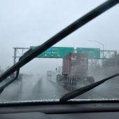 Schwere Winterstürme in Kalifornien: Erdrutsche befürchtet