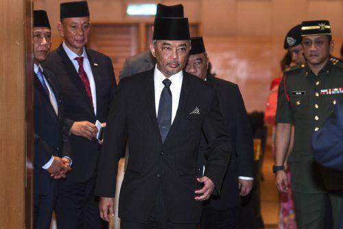 Die Amtseinführung des neuen Monarchen ist für kommende Woche geplant. AFP