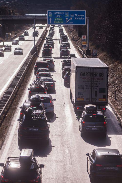 Die Asfinag betreut 2200 Kilometer Autobahnen und Schnellstraßen.VN/PS