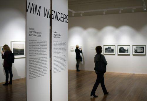"""Die Ausstellung """"Wim Wenders - Frühe Photographien. 60er– 80er Jahre"""" ist im Metro Kinokulturhaus in Wien zu sehen. apa"""