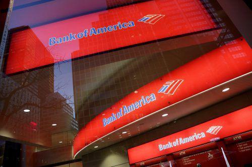 Die Bank of America kann sich über einen kräftigen Gewinnsprung freuen. AP
