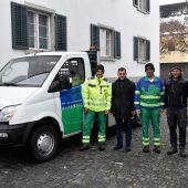 Rankler Bauhof elektrisch unterwegs