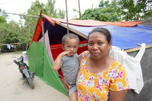 Die Caritas kann 400 Familien auf Sulawesi helfen. CAritas