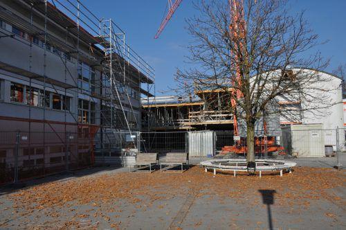 Die Fertigstellung der Volksschule Kirchdorf soll im Frühjahr 2020 erfolgen.