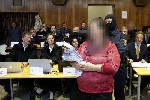 """Die Hauptangeklagte aus der Steiermark legte """"absoluten Widerspruch"""" gegen ihre Verurteilung zu 14 Jahren Haft ein. apa"""