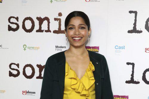 Die indische Schauspielerin Freida Pinto will nicht mehr mit Regisseur Woody Allen zusammenarbeiten. AP