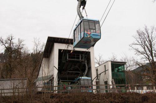 Die Karrenseilbahn ist vom 7. Jänner bis 15. März in Revision.Firma