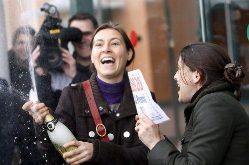 """Die """"Loteria del Nino"""" schüttete insgesamt 700 Millionen Euro aus. reuters"""