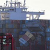 Frachter verlor im Sturm 270 Container in der Nordsee