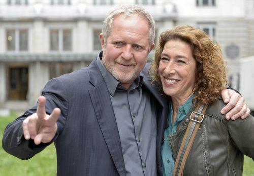"""Die Schauspieler Harald Krassnitzer und Adele Neuhauser ermitteln gemeinsam beim """"Tatort"""". Am Sonntag hat Neuhauser als Bibi Fellner ihren 20. Einsatz. APA"""