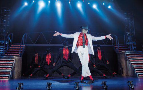 Die Show bringt die gesamte Magie Michael Jacksons auf die Bühne. irina chira