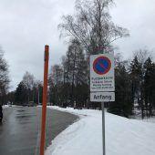 Kurzparkzone ohne Gültigkeit