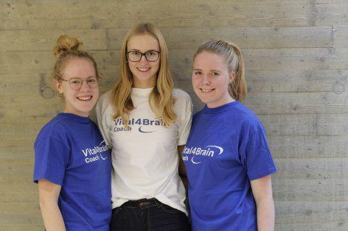 Diplomarbeitsteam: Magdalena Ott, Carina Rädler, Bianca Bals (alle 5Hb).HLW Marienberg