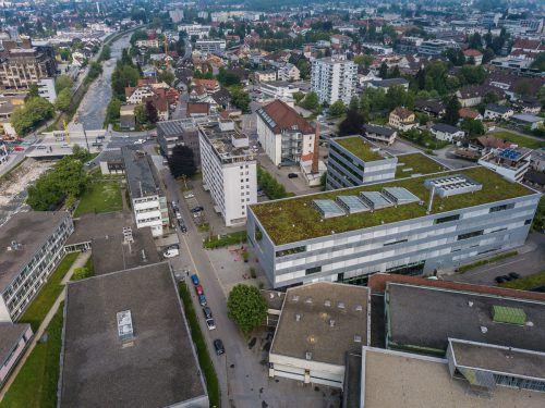 Dornbirn nähert sich rasch der 50.000-Einwohner-Marke.VN/Steurer