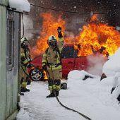 Emser Feuerwehr im Dauereinsatz