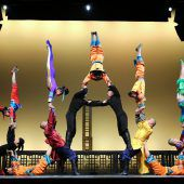 Grenzenlose Akrobatikkunst
