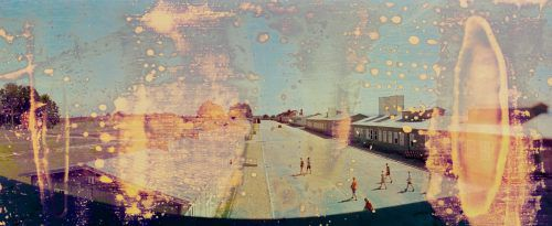 Ein Werk aus der konzeptuellen Fotoserie des aus Schruns stammenden Künstlers Marko Zink. Zink, Arman Rastegar