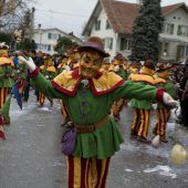 Großer internationaler Faschingsumzug in Fußach