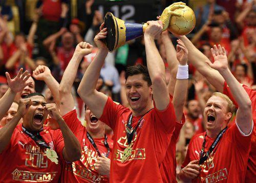 Einer der dänischen WM-Helden war Goalie Niklas Landin.AFP