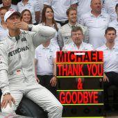 Mercedes würdigt Schumacher