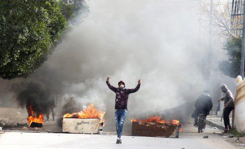 Ende Dezember gab es in Tunesien heftige Proteste. reuters