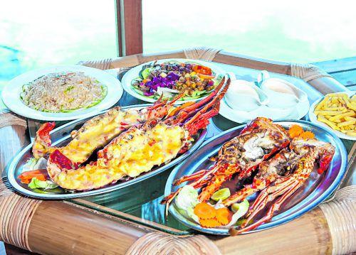 Fast alle Gerichte auf den Malediven kommen aus dem Meer.