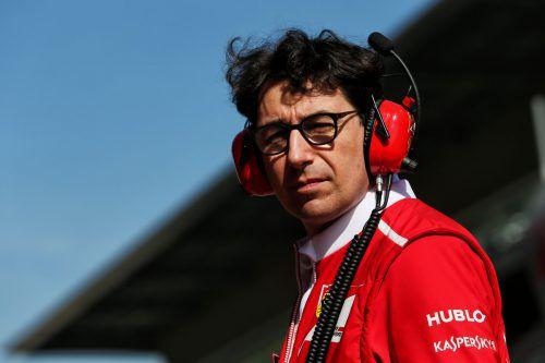 Ferrari beförderte Mattia Binotto zum neuen Formel-1-Teamchef. gepa