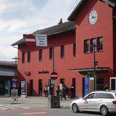 Bahnhof Dornbirn top – Bahnhof Bregenz ein Flop