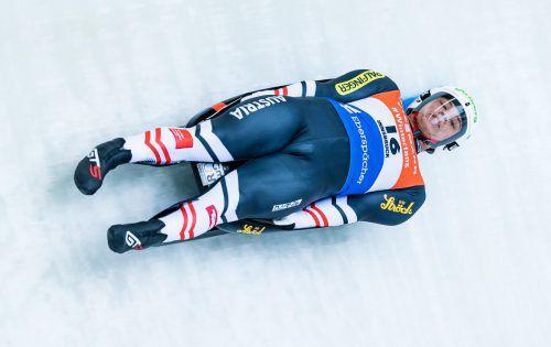 Für die heimischen Rodelasse (im Bild Sprintweltmeister Jonas Müller) entsteht in eine moderne Trainingsstätte.APA