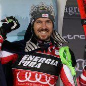 Triumph Nummer fünf von Marcel Hirscher beim Weltcupslalom in Zagreb. C1