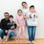 Der neunjährige Mohamad leidet an dem äußerst seltenen Cutis-laxa-Syndrom. A6