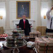 Fastfood bei Trump