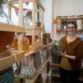 Angelika Purin lebt durch bewussten Einkauf ein fast plastikfreies Leben. A8