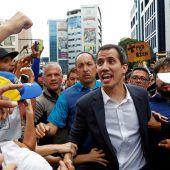 Aufruhr in Venezuela